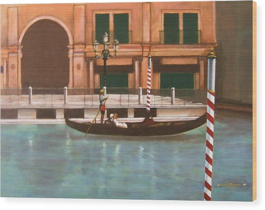 Venetian Number Two Wood Print by Howard Stroman