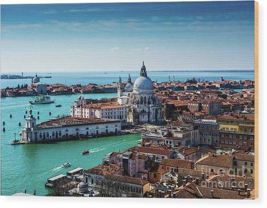 Eternal Venice Wood Print