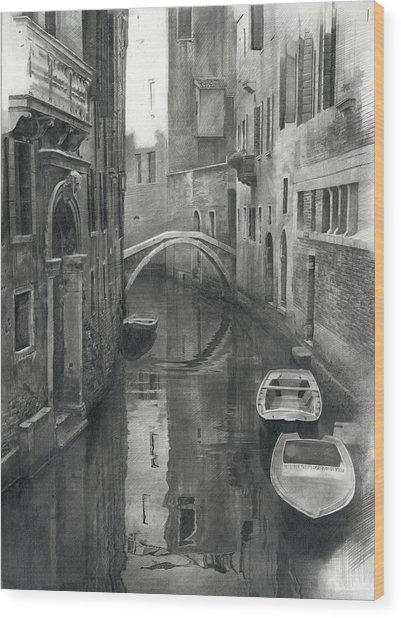 Venice Mmxviii  Wood Print