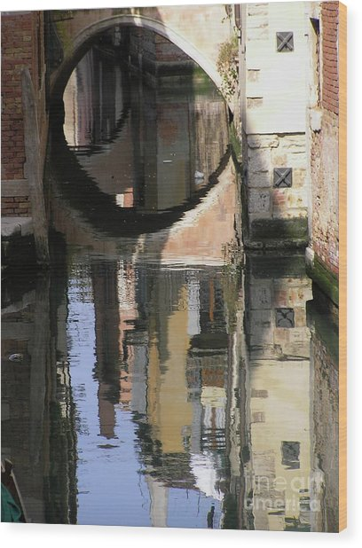 Venice01 Wood Print