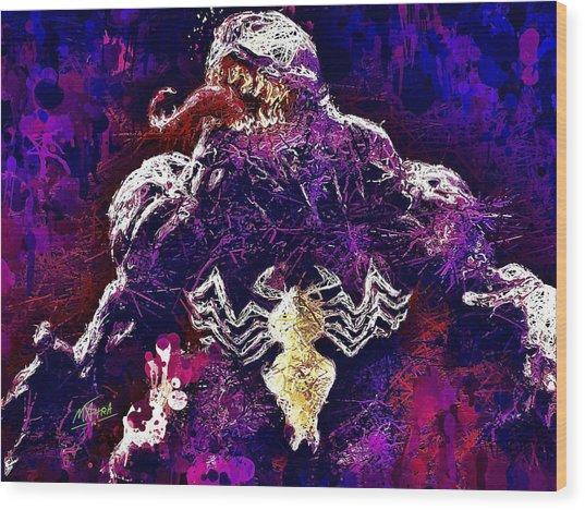 Venom Wood Print