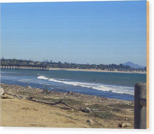 Ventura Pier 2 Wood Print by Robin Hernandez