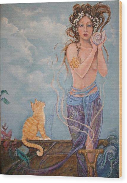 Venus  Wood Print by Catherine Moore