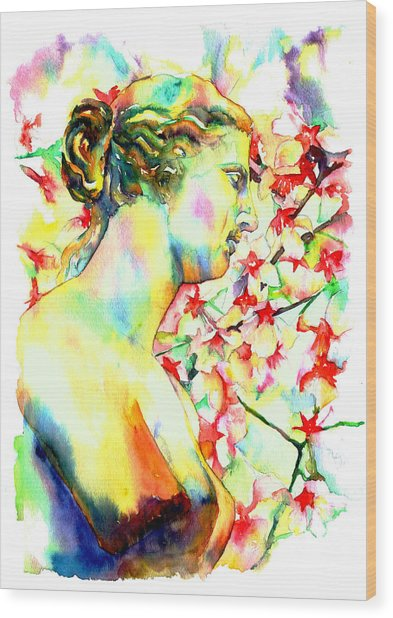 Venus De Milo Wood Print