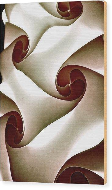Venus Illuminations Wood Print