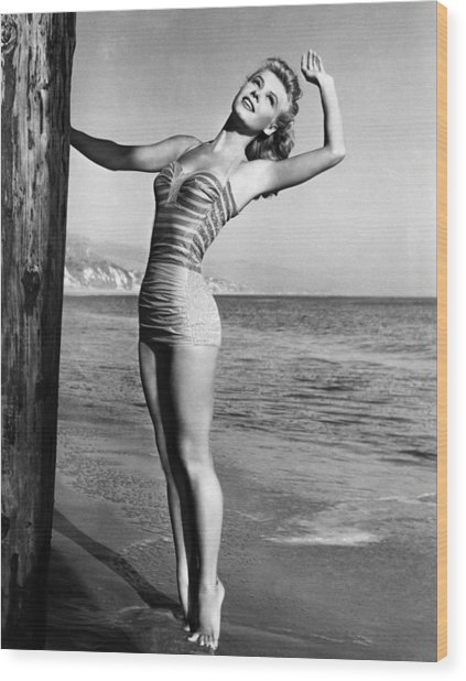 Vera-ellen, Ca. 1940s Wood Print