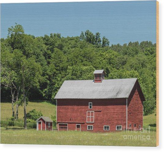 Vermont Barn Wood Print