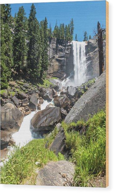 Vernal Falls- Wood Print