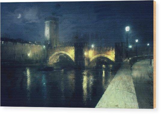 Verona, Castelvecchio Wood Print
