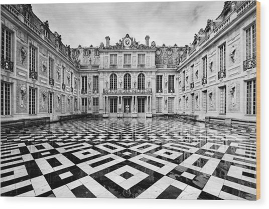 Versailles Architecture Paris Wood Print