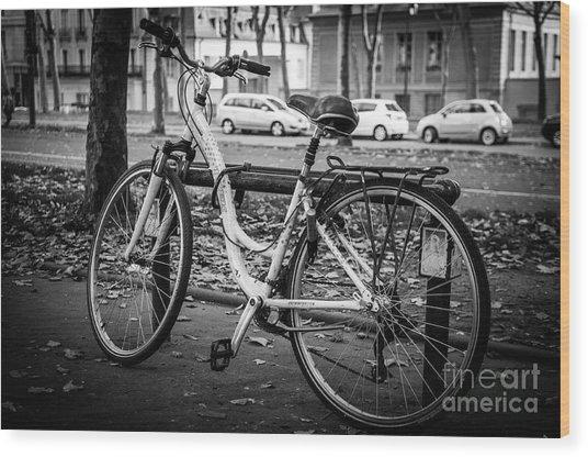 Versailles Bicycle Wood Print