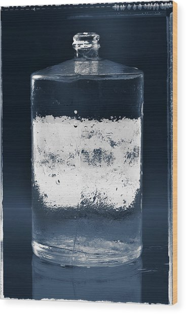 Vessel #8319 Wood Print