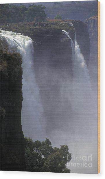 Victoria Falls - Zimbabwe Wood Print