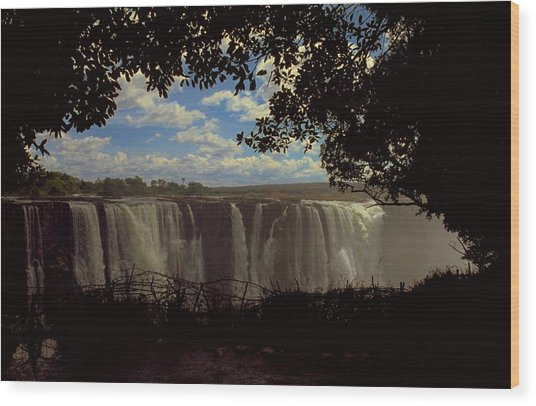 Victoria Falls, Zimbabwe Wood Print