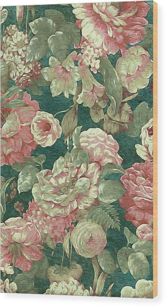Victorian Garden Wood Print