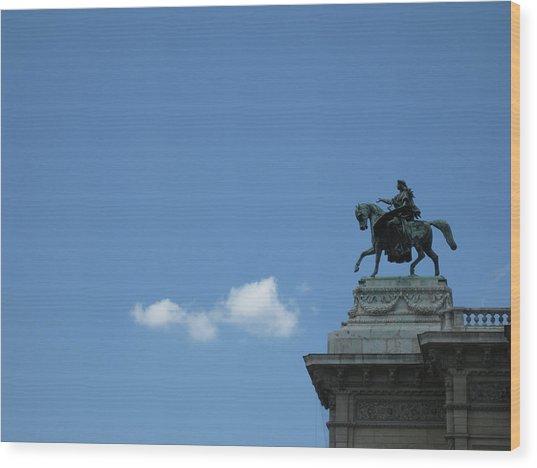 Vienna Sky Wood Print