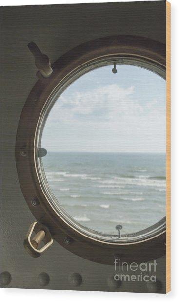 View At Sea II Wood Print