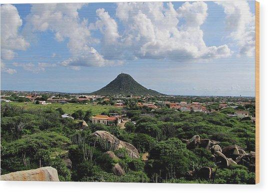View From Casibari Wood Print