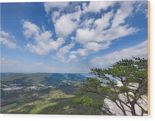 View From Sunset Rock 3 Wood Print