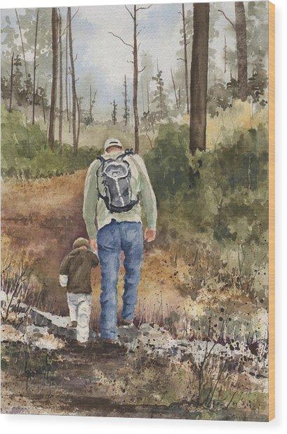 Vince And Sam Wood Print