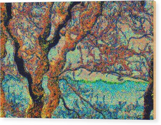 Vincent At Duxbury Bay Wood Print