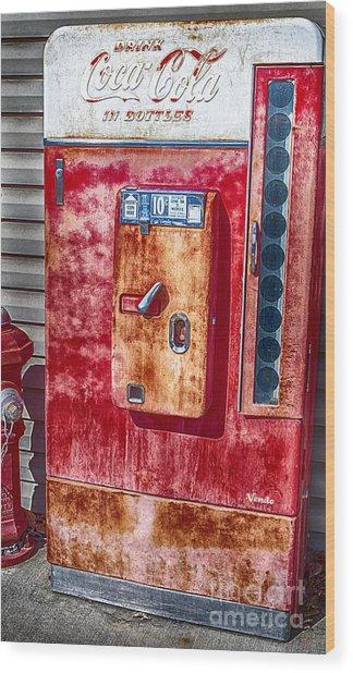 Vintage Coca-cola Machine 10 Cents Canvas Print,photographic Print,art Print,framed Print, Wood Print