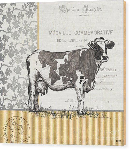 Vintage Farm 4 Wood Print