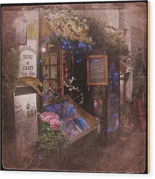 Vintage Paris 1 Wood Print