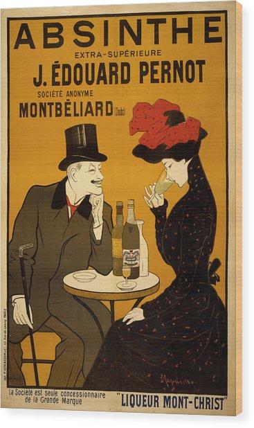 Vintage Poster 2 Wood Print