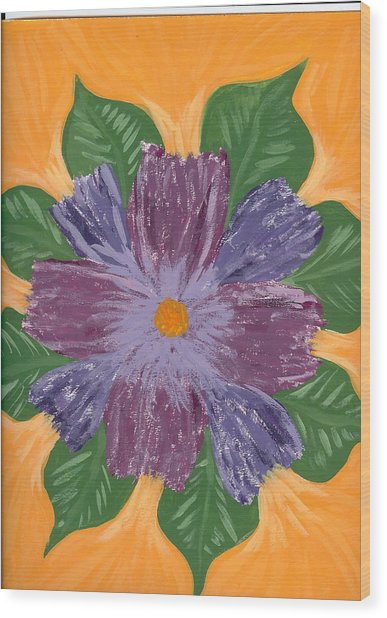 Viola Wood Print by Laura Lillo