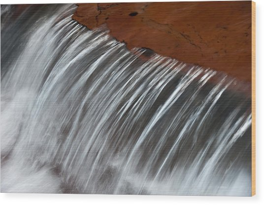 Virginia Falls Glacier National Park Wood Print