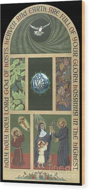 Viriditas - Finding God In All Things Wood Print