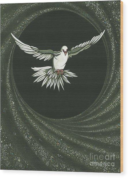 Viriditas-holy Spirit Detail Wood Print