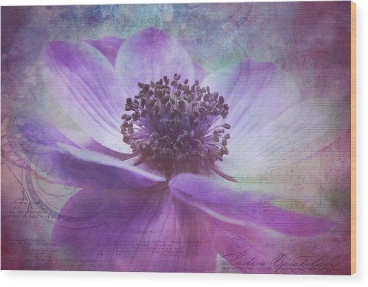 Vision De Violette Wood Print