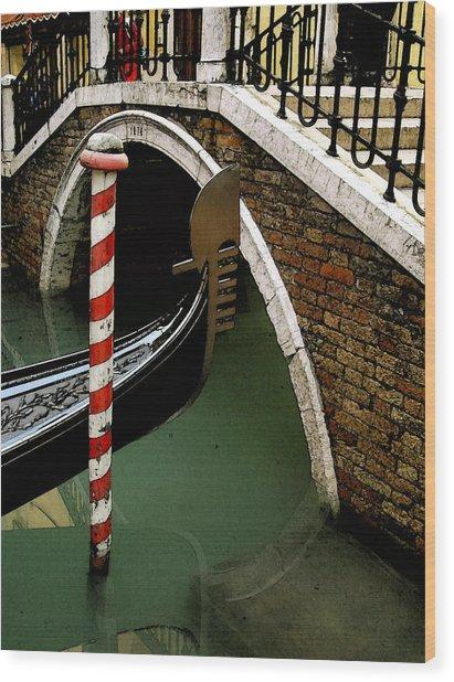 Visions Of Venice 1. Wood Print