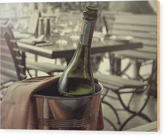 Viva Lamour Chill To Taste Wood Print by JAMART Photography
