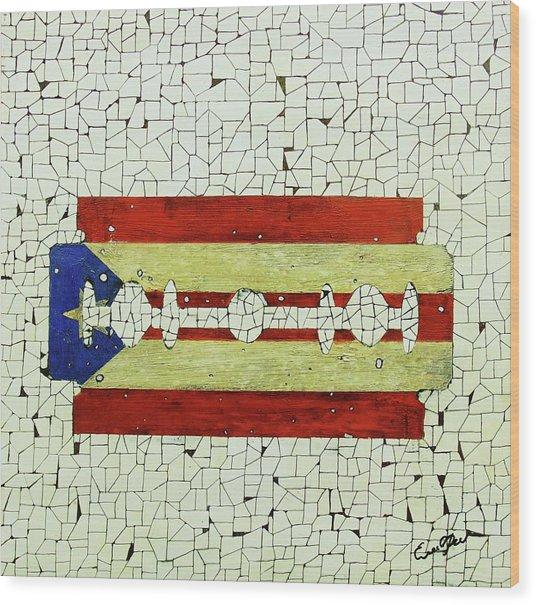 Viva Porto Rico Wood Print by Emil Bodourov