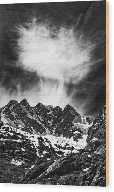 Volcanic Wood Print