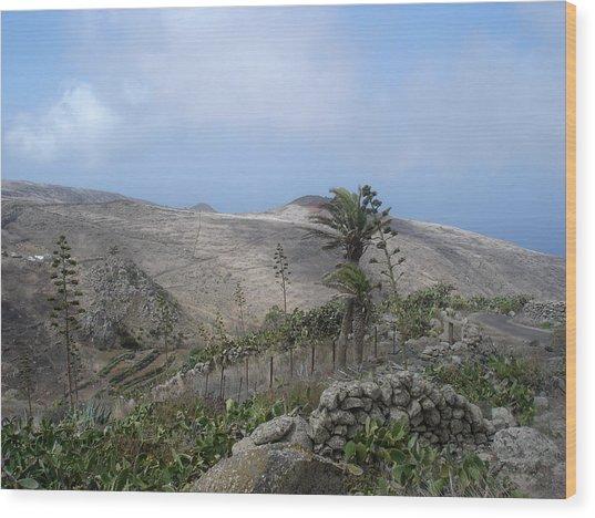 Volcanic Landscape Tenerife - Teno Alto 1 Wood Print