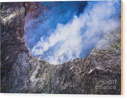 Kilauea Volcano Wood Print