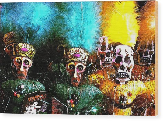 Voodoo For You Wood Print