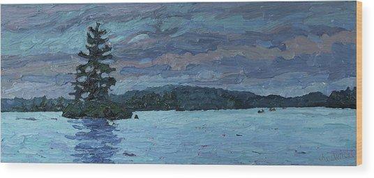Voyageur Highway Wood Print