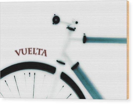 Vuelta Wood Print by Frank Tschakert
