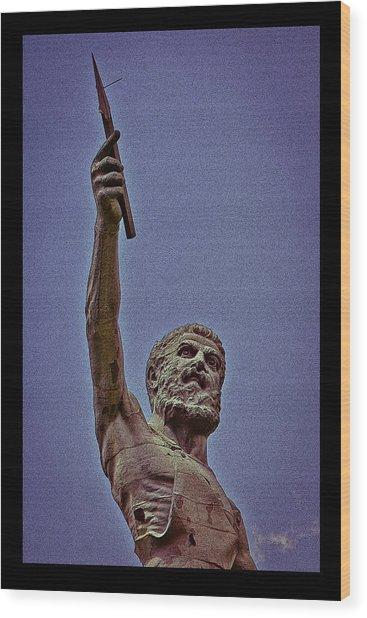 Vulcan Spear Poster Wood Print