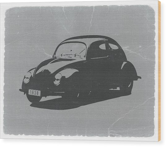 Vw Beetle Wood Print