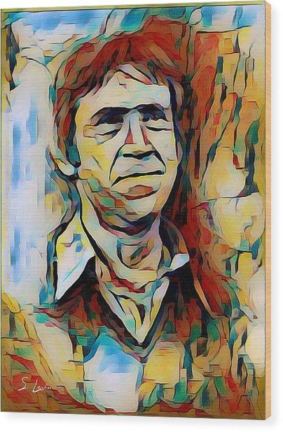Vysotsky Vladimir Singer-songwriter Wood Print
