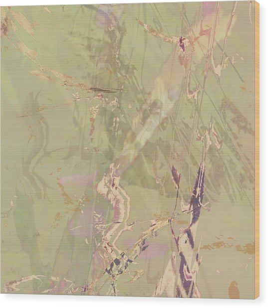 Wabi Sabi Ikebana Revisited Shabby 1 Wood Print