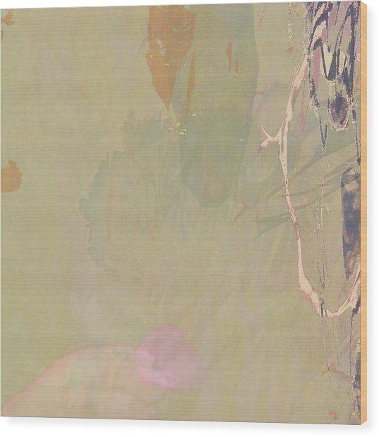 Wabi Sabi Ikebana Revisited Shabby 2 Wood Print