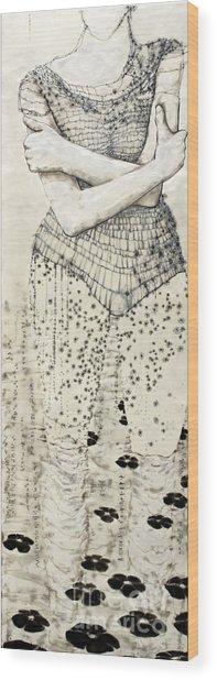 Wader Wood Print
