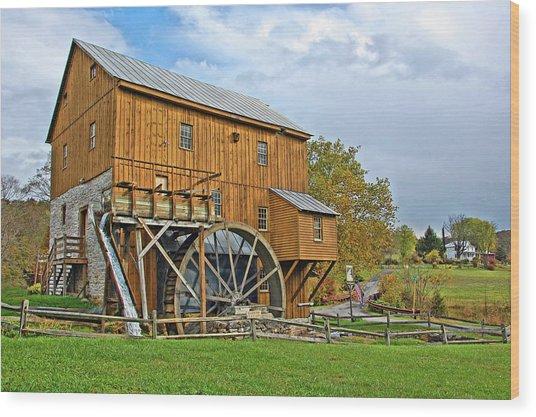 Wades Mill Wood Print